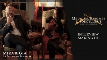Meurtre, enigmes & sorcellerie : interview Mika & Gia