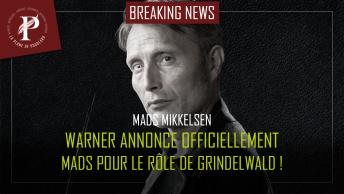Mads Mikkelsen warner annonce officiellement mads pour le rôle de Grindelwald !